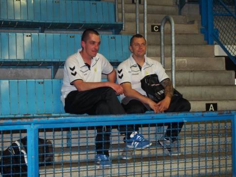 Alexandre GUEUGNEAU et Stéphane GOMBERT du club de Sennecey