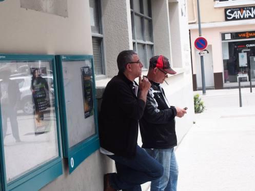 Jean-Michel BURDIN et Philippe CONFORT, du club de sennecey-Le-Grand.