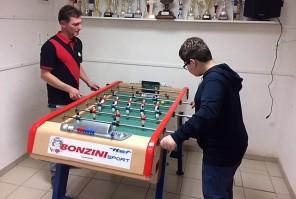 Joris contre Frédéric GENEIX en match amical