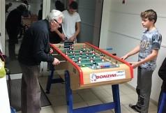 Hugo contre Bernard en phase de qualification