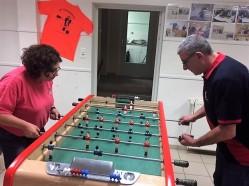 Christelle contre Philippe CONFORT en 16ème de finale