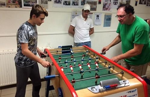Quart de finale: Hugo contre Eric ARDITTI