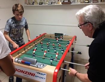 Match pour la troisième place entre Hugo et Bernard
