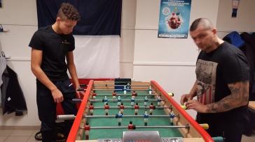 Lilian face à Stéphane Gombert en phase de qualification